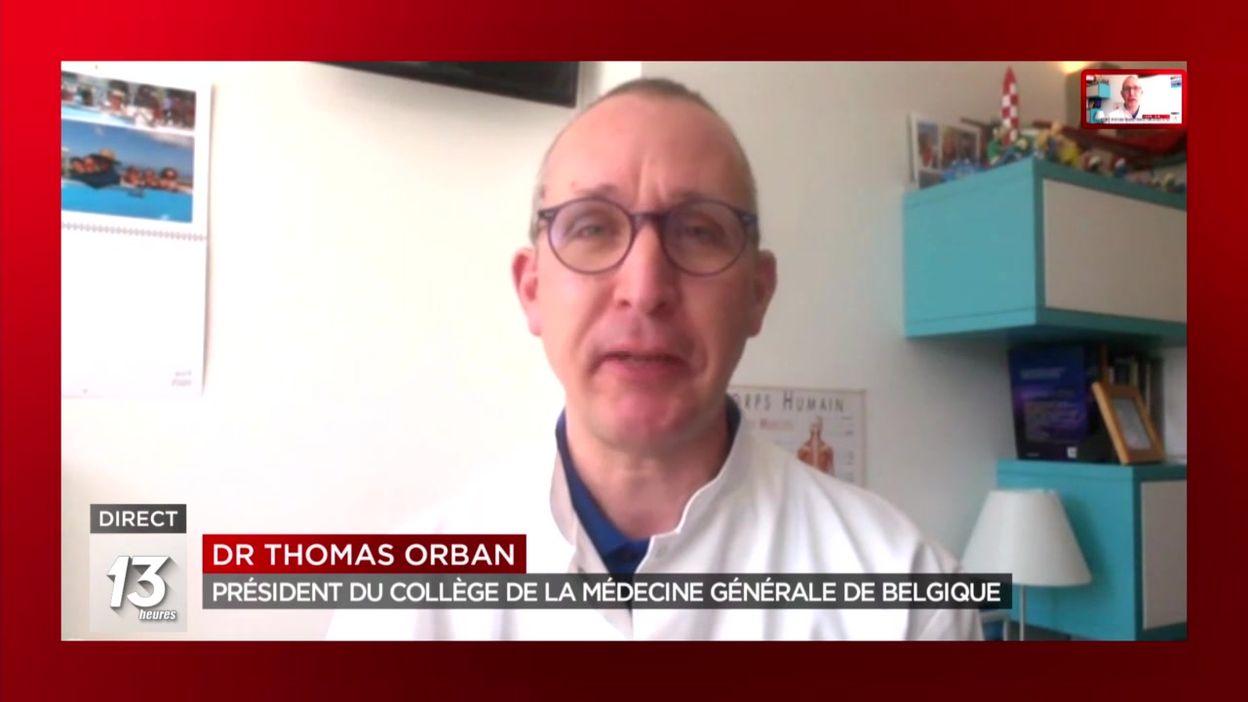 Port du masque obligatoire en Belgique : le point de vue de Thomas Orban