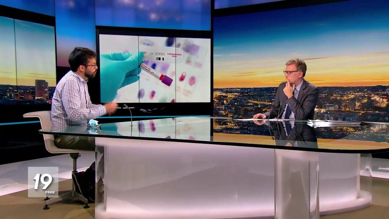 Emmanuel André sur le testing et le lockdown des villes belges