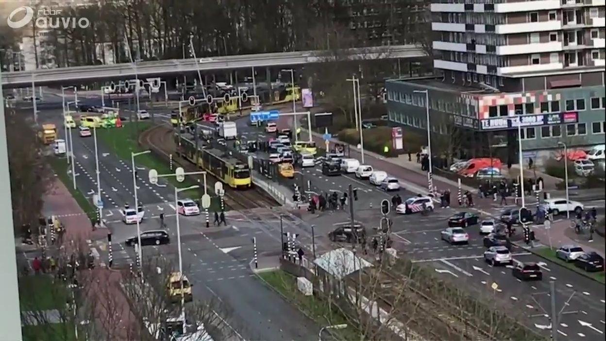 Pays-Bas: fusillade dans un tram à Utrecht