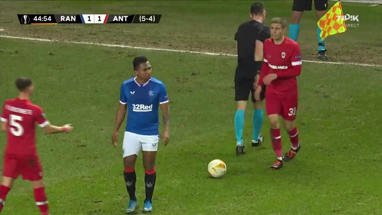 Rangers-Antwerp: Le beau geste fair-play d'Alfredo Morelos, salué par Romelu Lukaku
