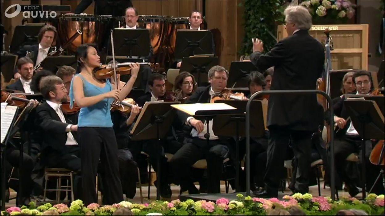 Queen Elisabeth 2005 - violon - Saeka Matsuyama - Finale - Concerto en ré majeur op. 77 de Brahms
