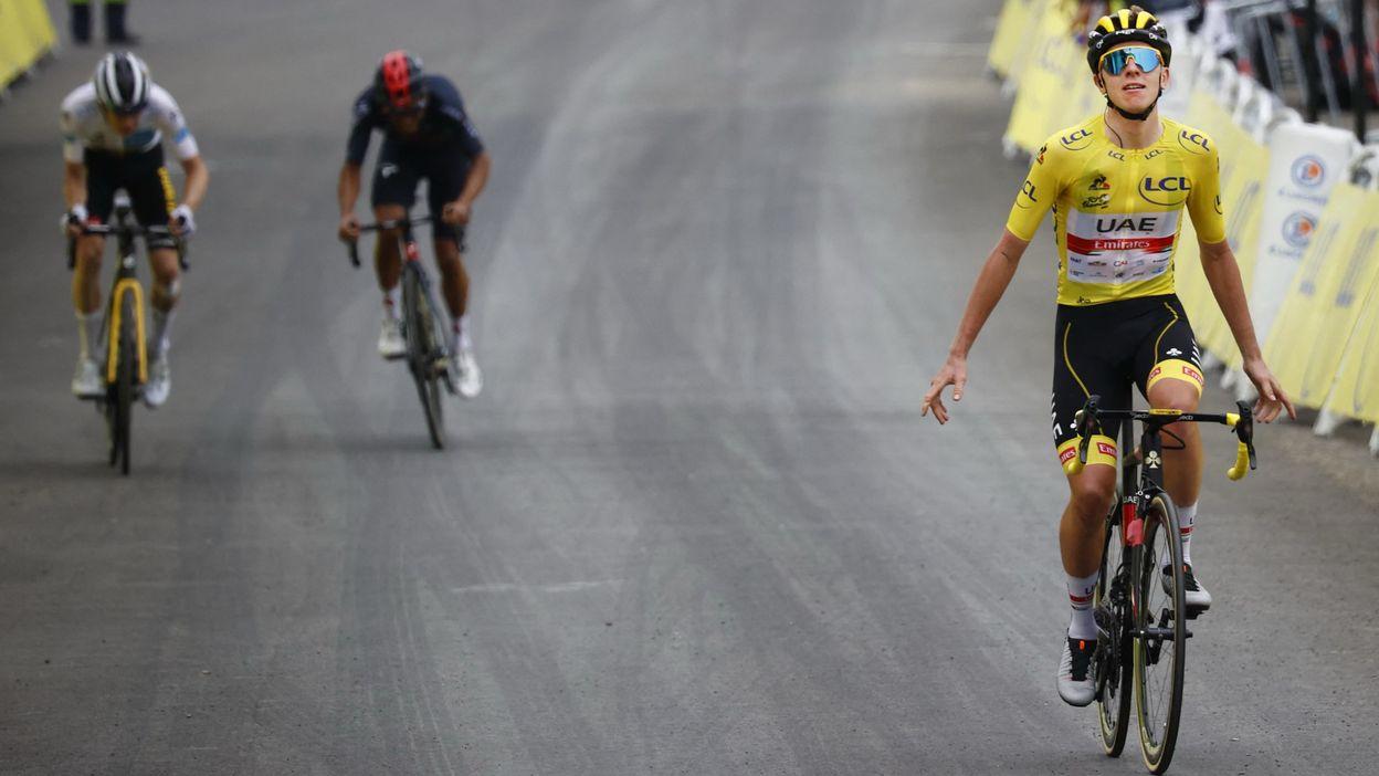18e étape : Pau > Luz Ardiden : Victoire de Tadej Pogacar