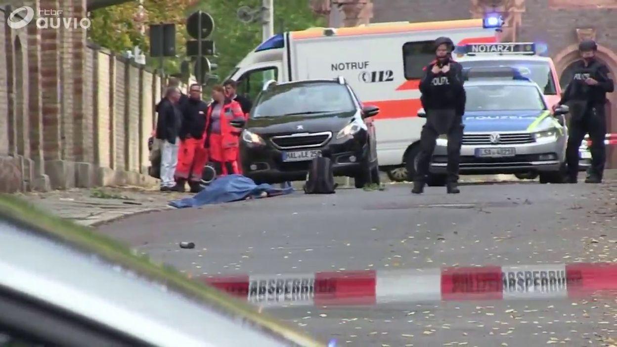 Fusillade de Halle (Allemagne): lieux du drame