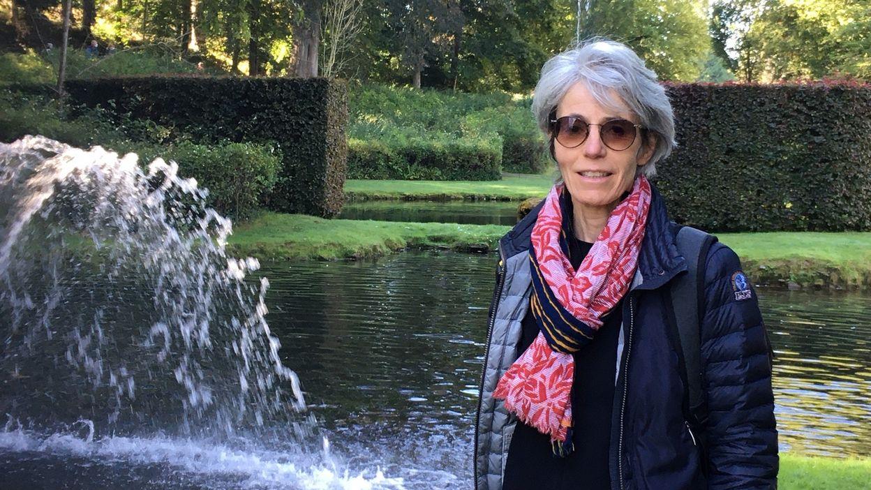 Nathalie de Harlez de Deulin et les jardins d'Annevoie