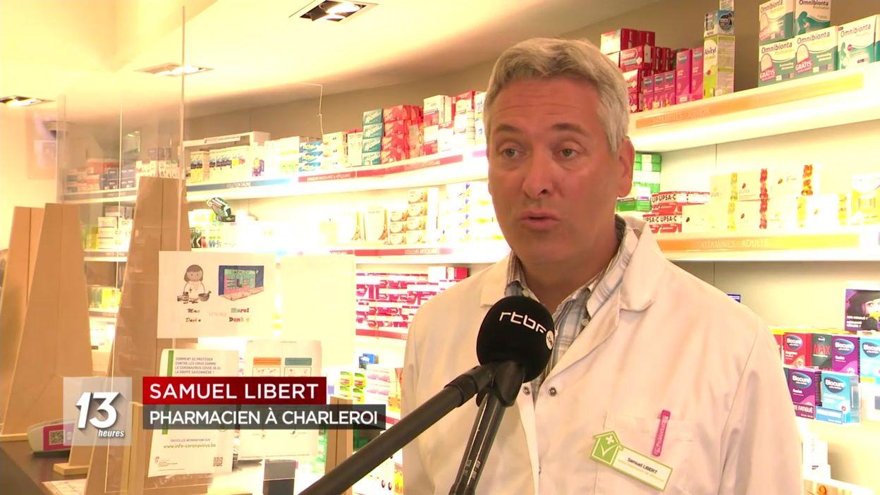 Début de la distribution des masques de l'armée dans les pharmacies