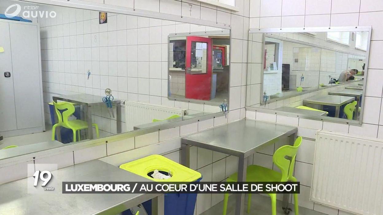 Au coeur d'une salle de shoot au Luxembourg