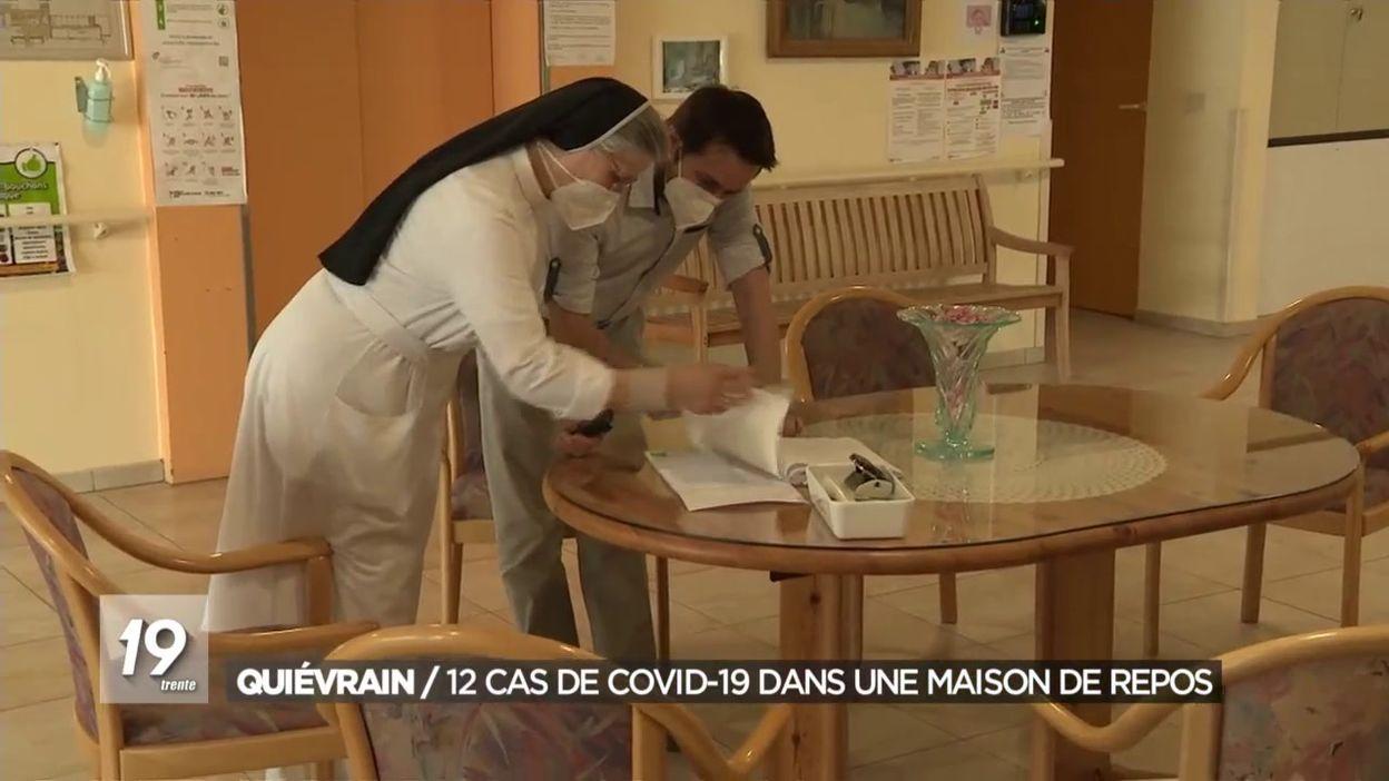 Quiévrain : 12 cas de covid-19 dans une maison de repos