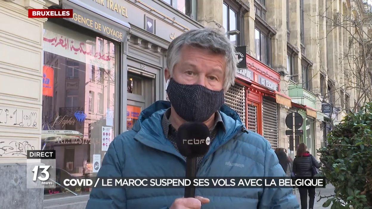 Le Maroc suspend ses vols avec la Belgique