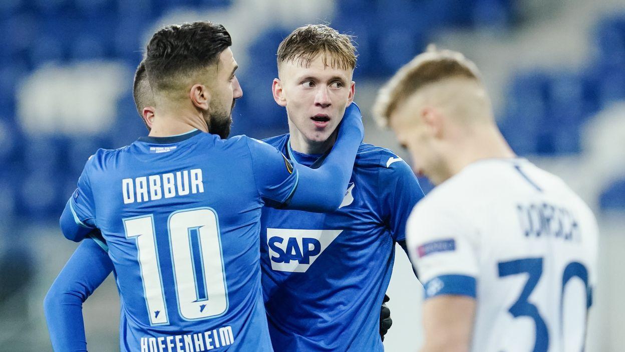 Hoffenheim - La Gantoise : 4-1