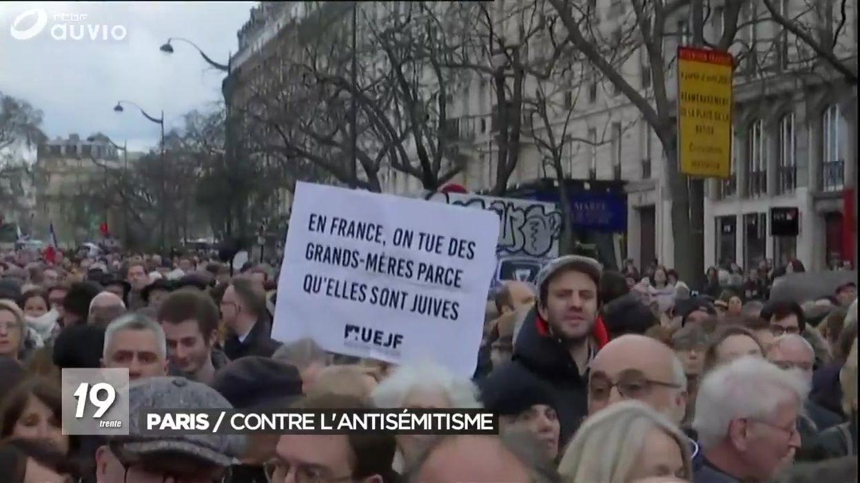 Paris : la marche après le meurtre antisémite