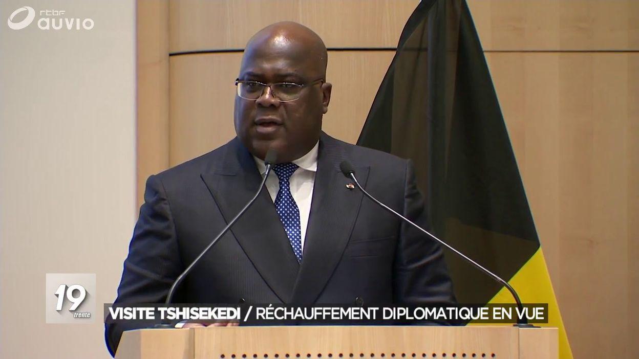 Visite de Tshisekedi en Belgique : réchauffement diplomatique en vue