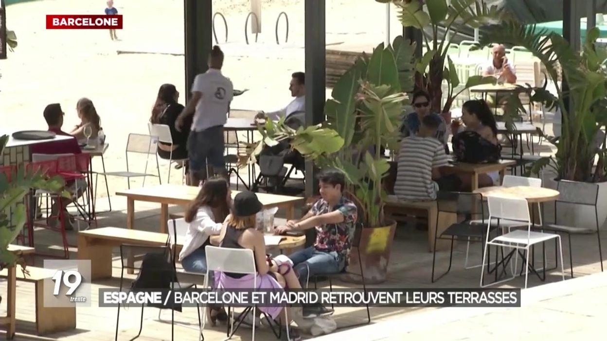 Réouverture des terrasses à Madrid
