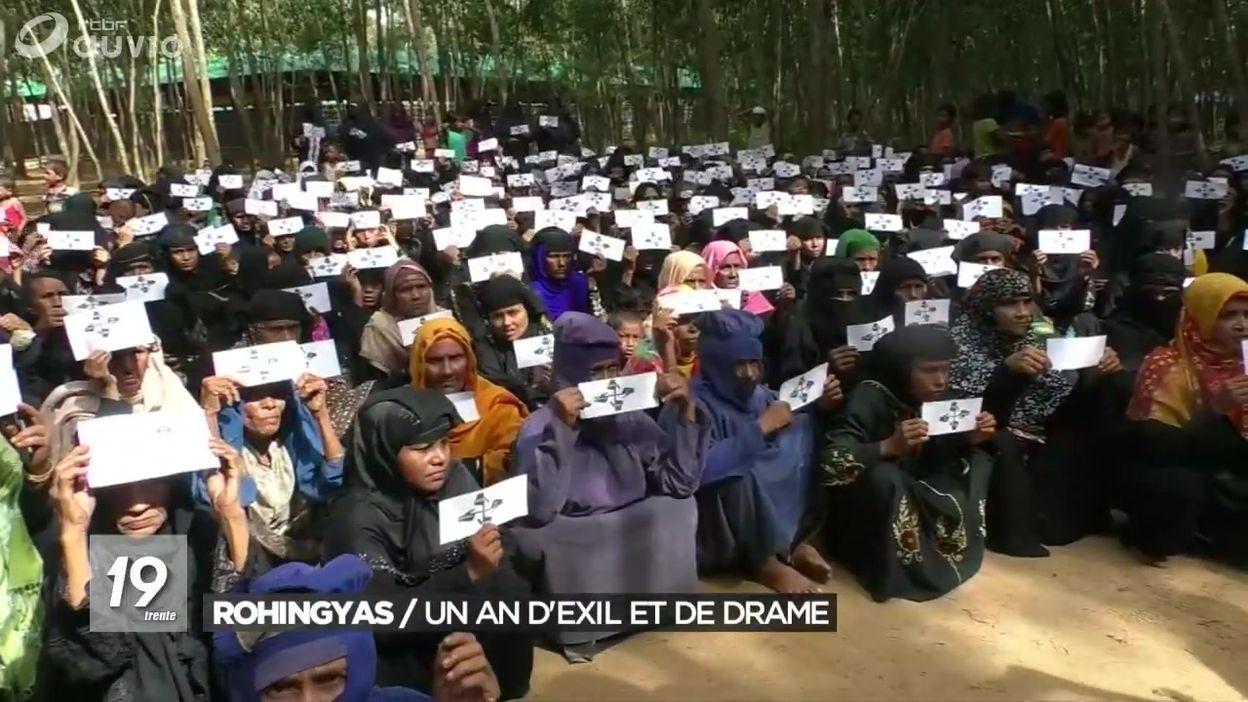 Rohingyas : un an d'exil et de drame