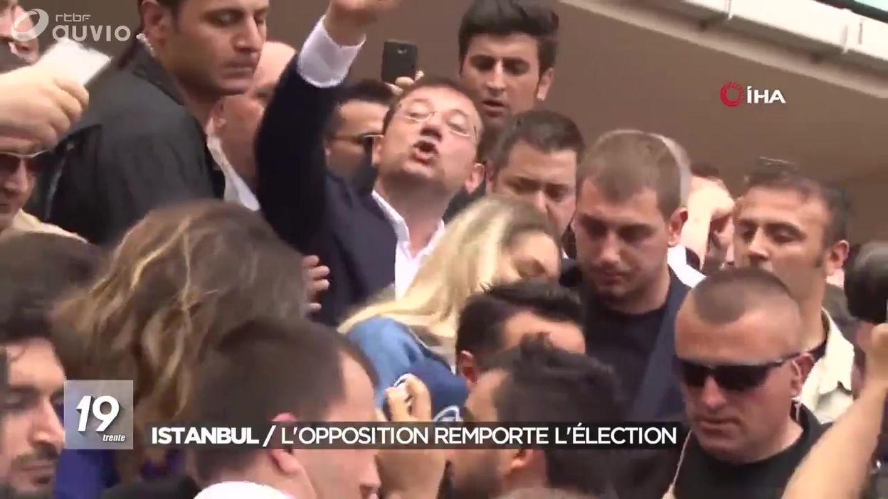 Istanbul : scrutin périlleux pour Erdogan