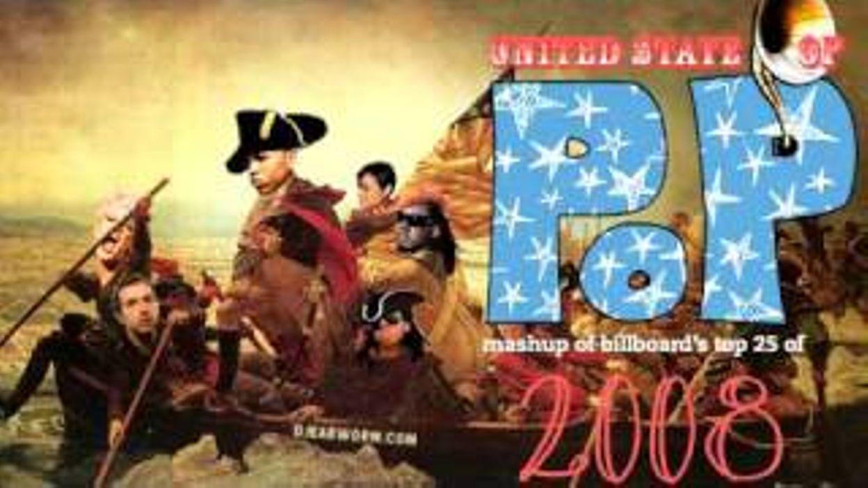 DJ Earworm - United State of Pop 2008 (Viva La Pop) - Mashup of Top