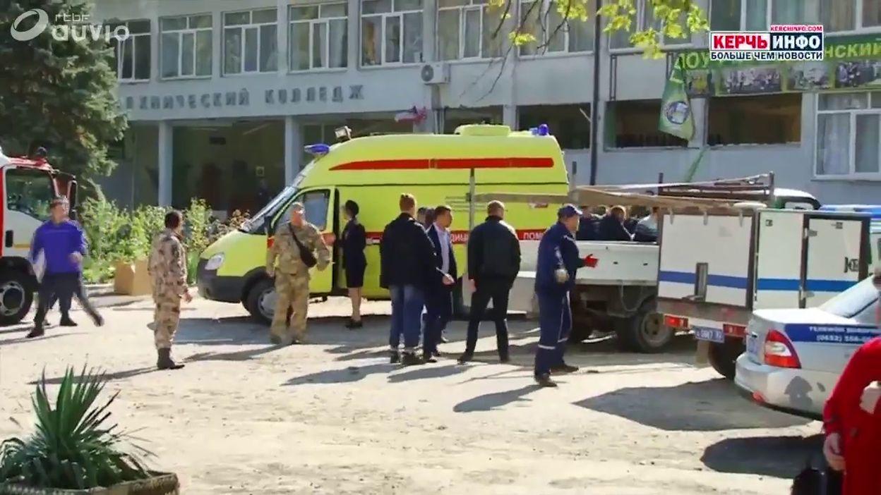 Attaque dans un collège en Crimée: au moins 18 morts