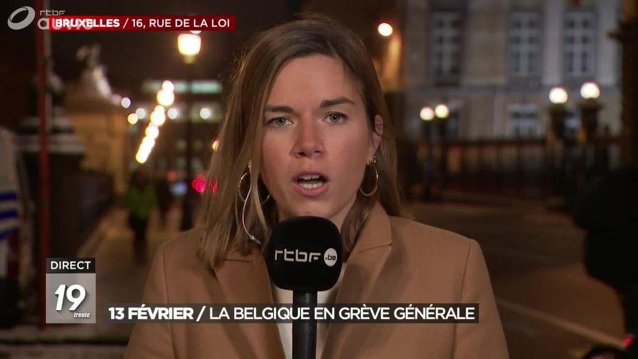 13 février : la Belgique en grève générale
