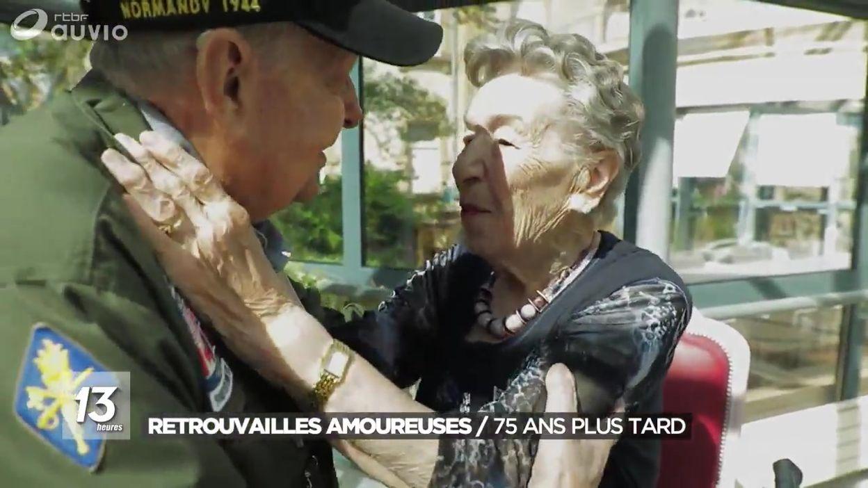 Retrouvailles amoureuses 75 ans plus tard
