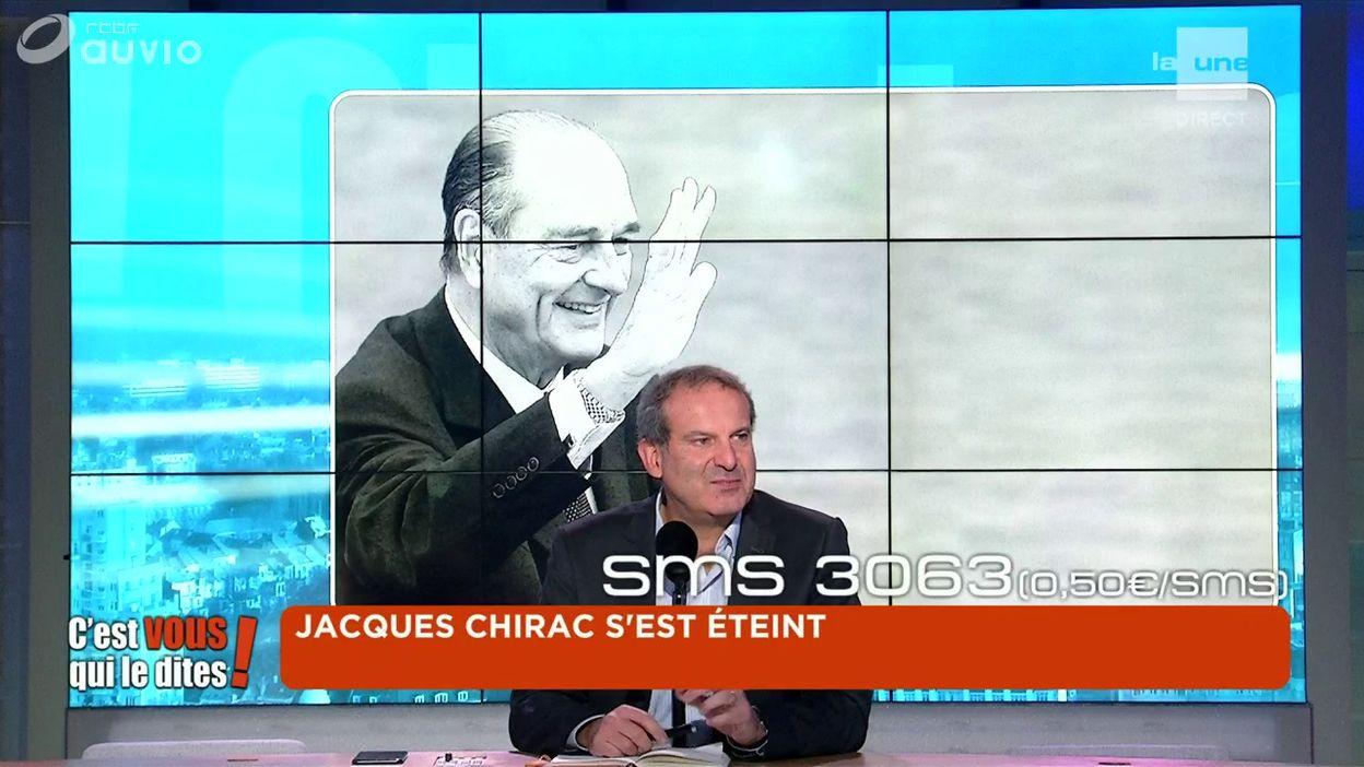 Jacques Chirac s'est éteint