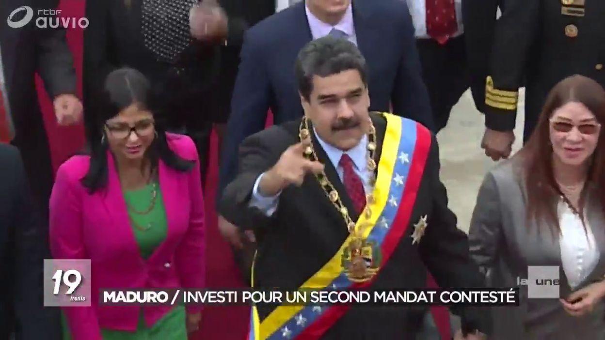 Nicolas Maduro entame un deuxième mandat