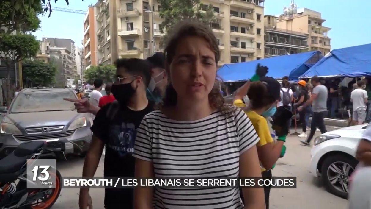 Beyrouth/les libanais se serrent les coudes
