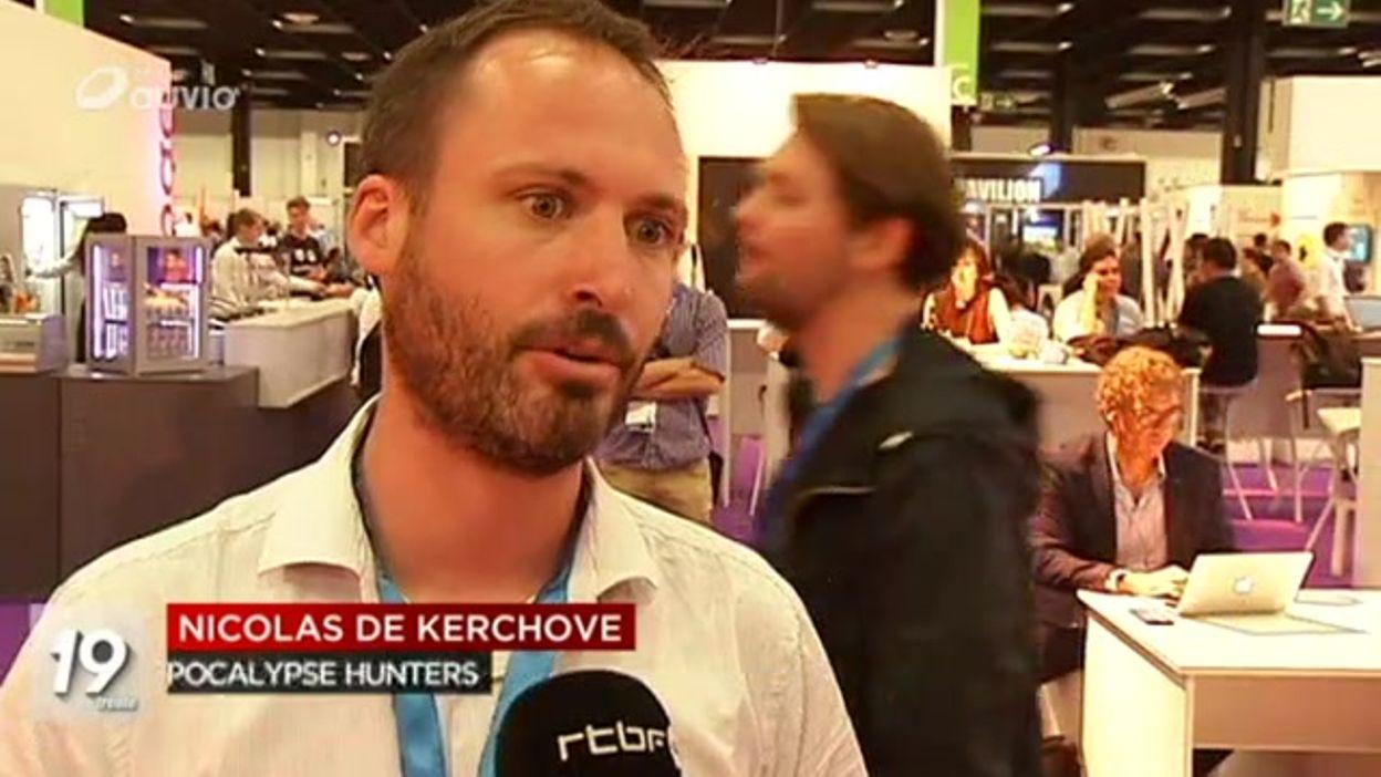 Entrepreneurs belges au salon du jeux vidéo de Cologne - 19/08/2016