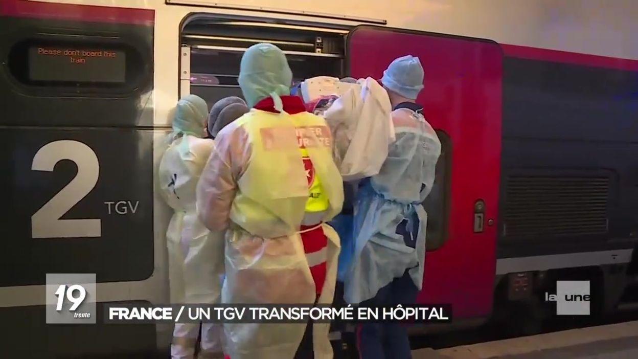 Une première européenne : un TGV hôpital en France