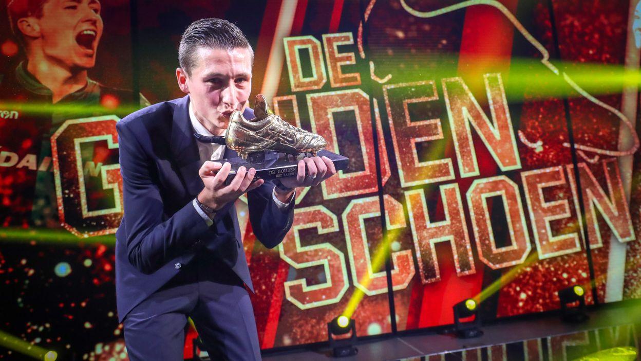 Soulier d'or 2018 : Hans Vanaken