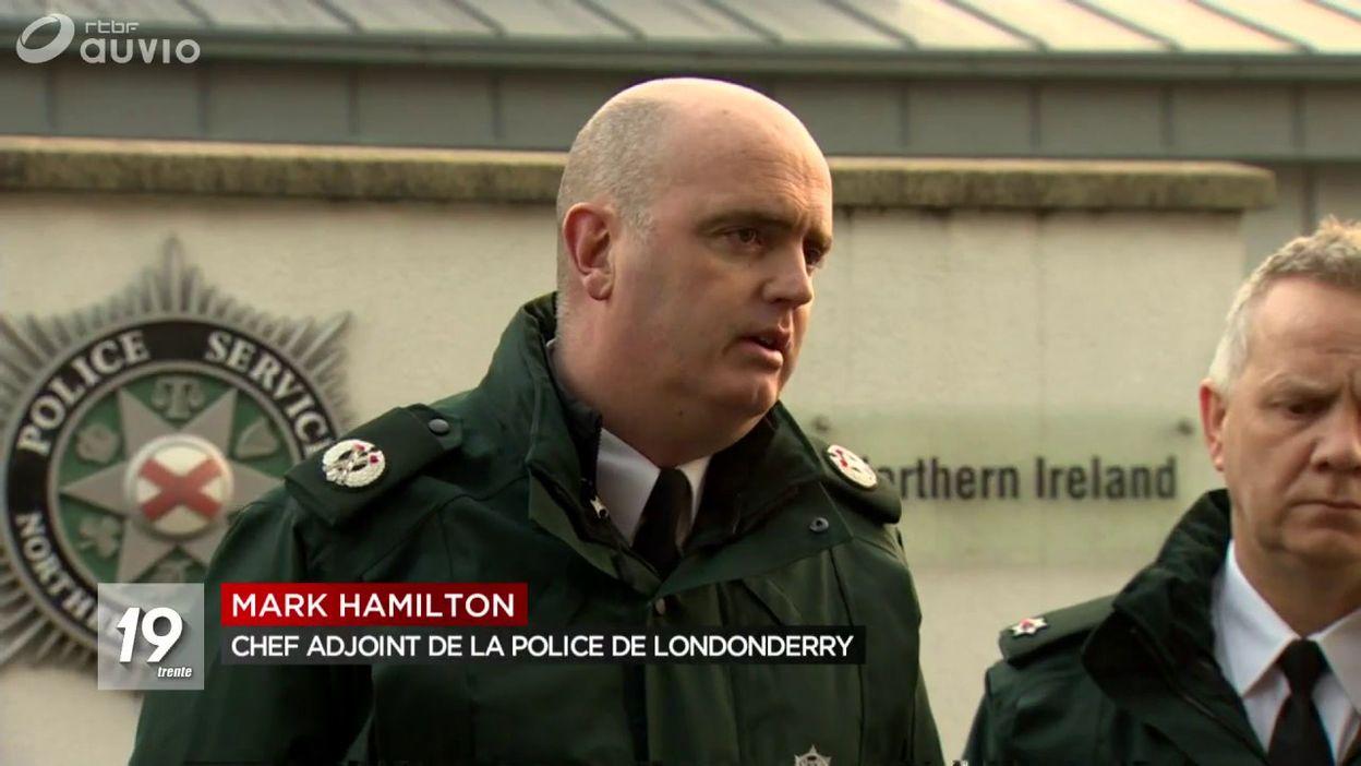 Londonderry journaliste assassinée