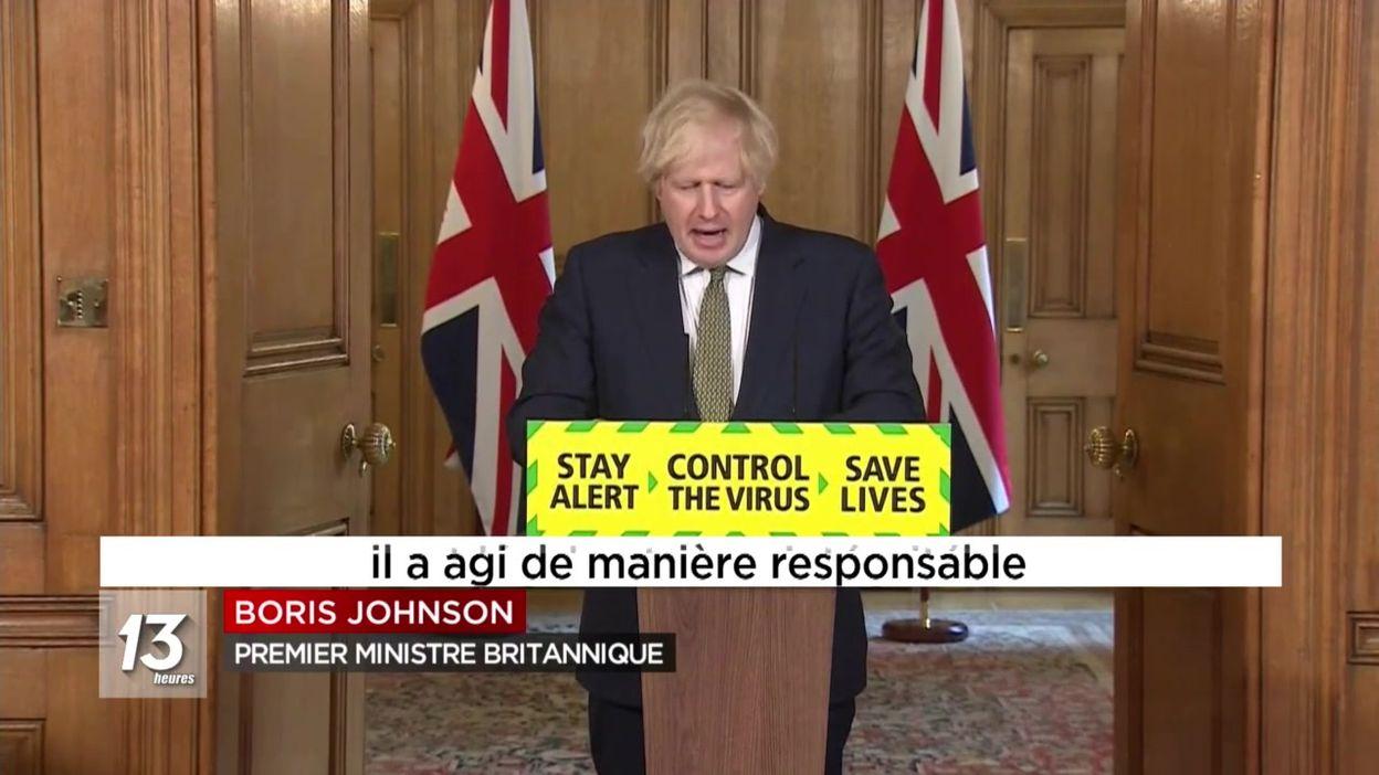 Le soutien de Boris Johnson à Dominic Cummings qui n'a pas respecté le confinement