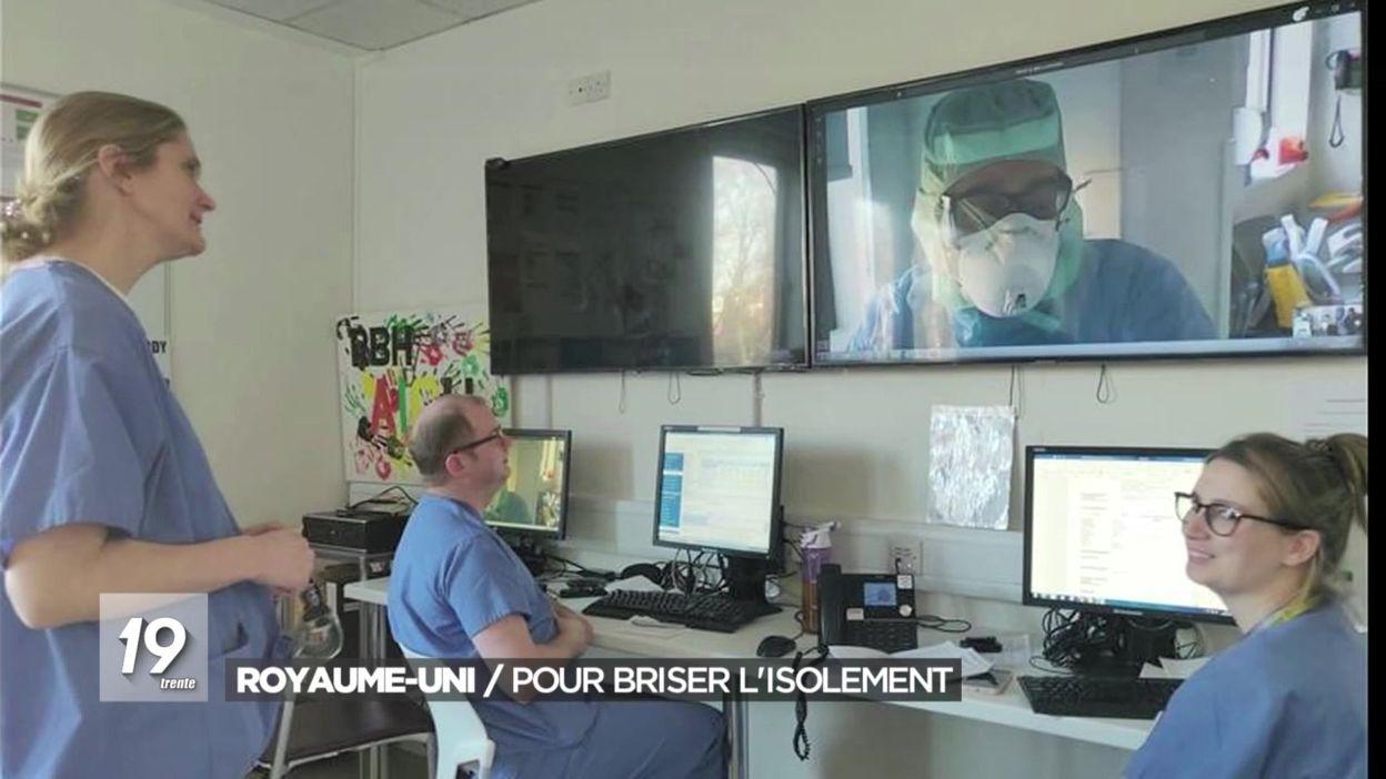 Royaume-Uni : des webcams à l'hôpital Royal Brompton