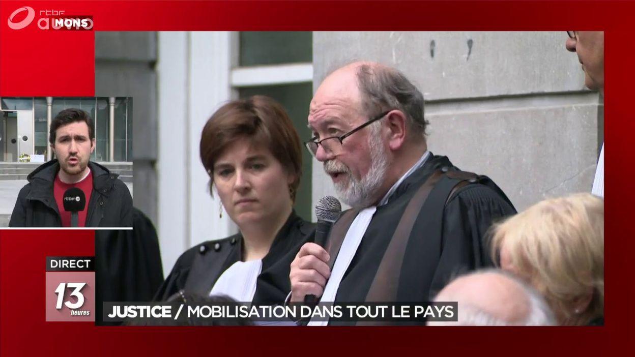 Justice : mobilisation dans tout le pays