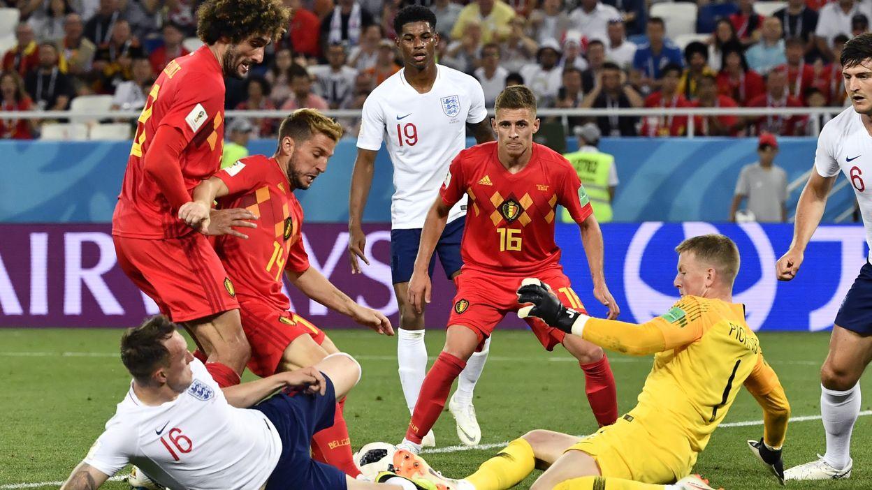 Angleterre - Belgique : 28 juin 2018 (0-1)