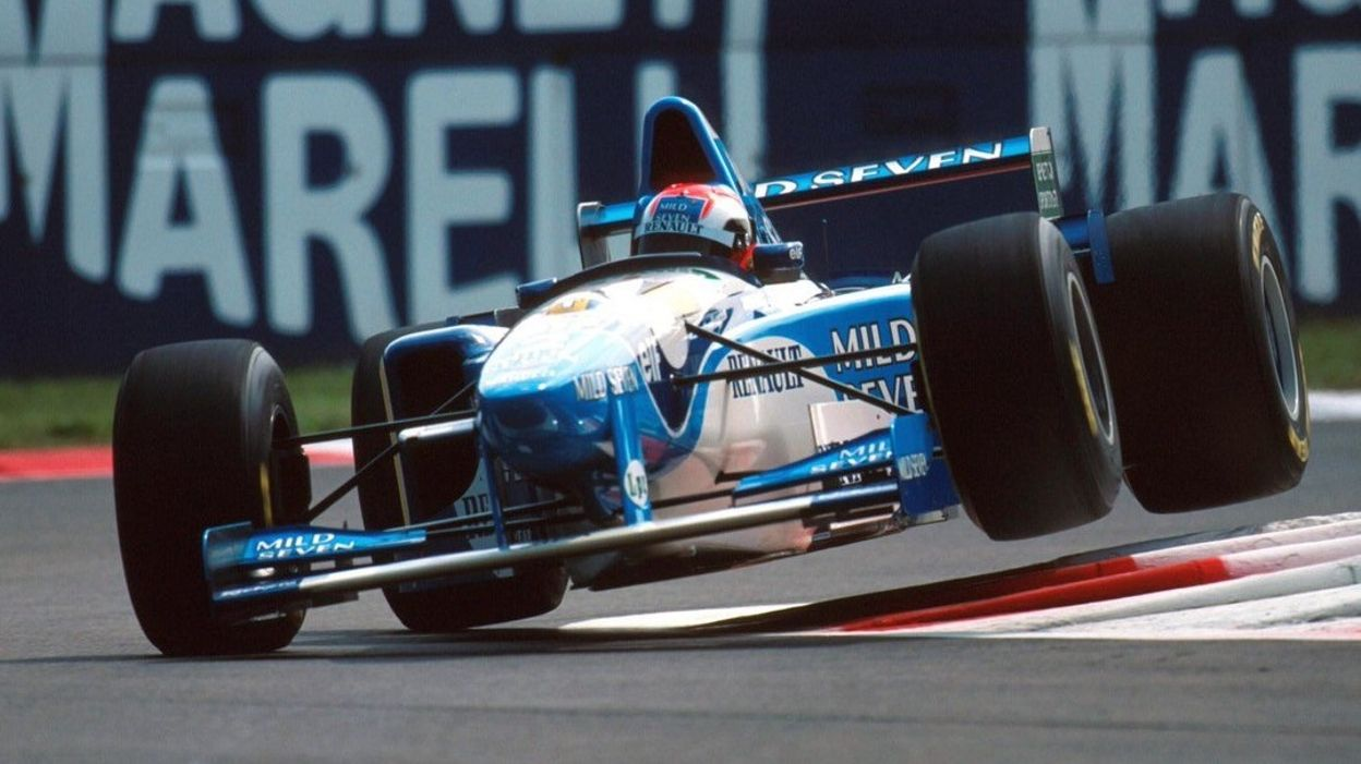 GP Italie 1995 : Johnny Herbert, l'invité surprise