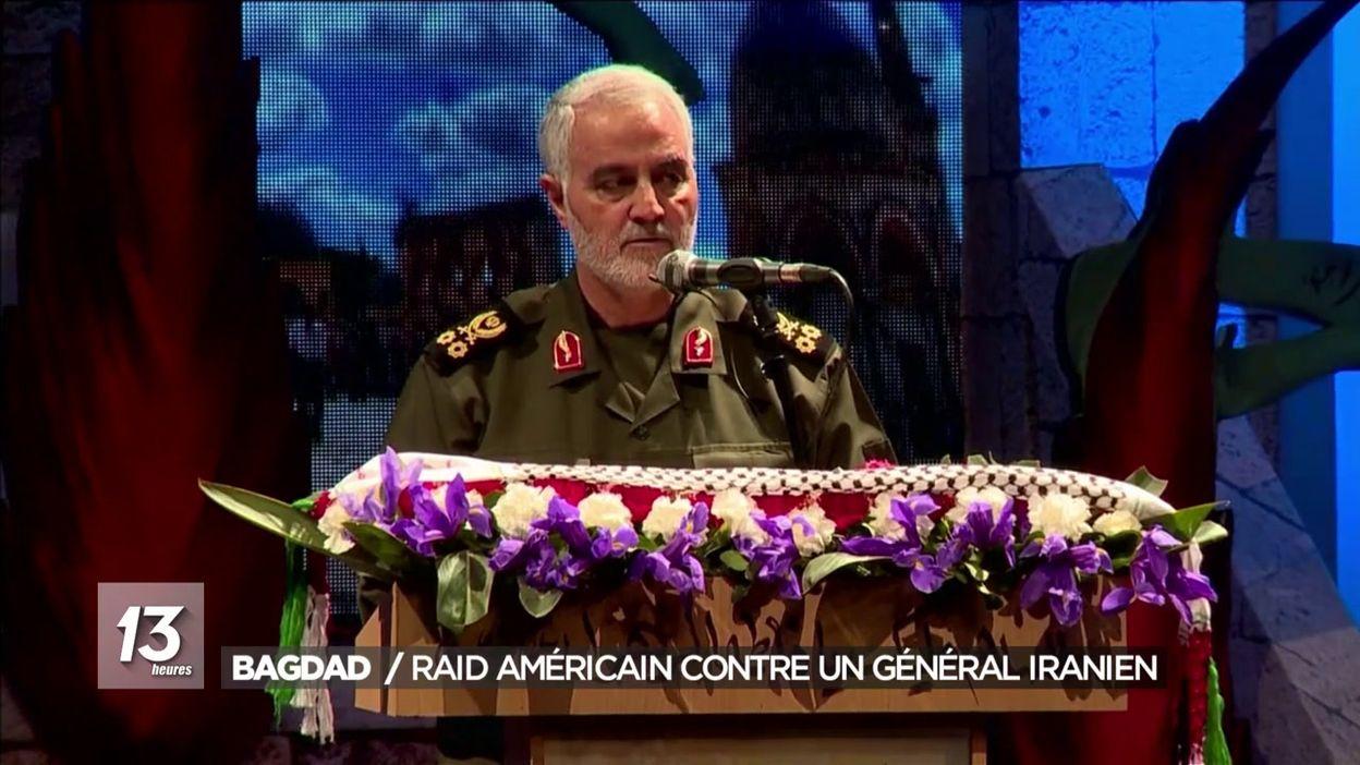 Bagdad : raid américain contre un général iranien