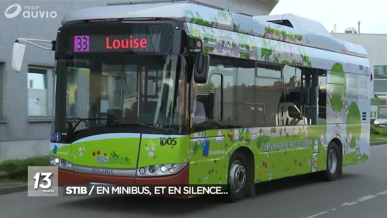 La STIB présente ses nouveaux minibus électriques