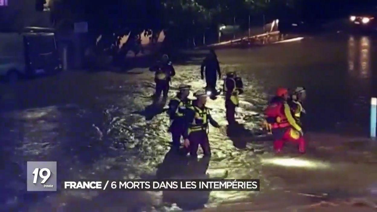 France : 6 morts dans les intempéries qui frappent le Sud-Ouest
