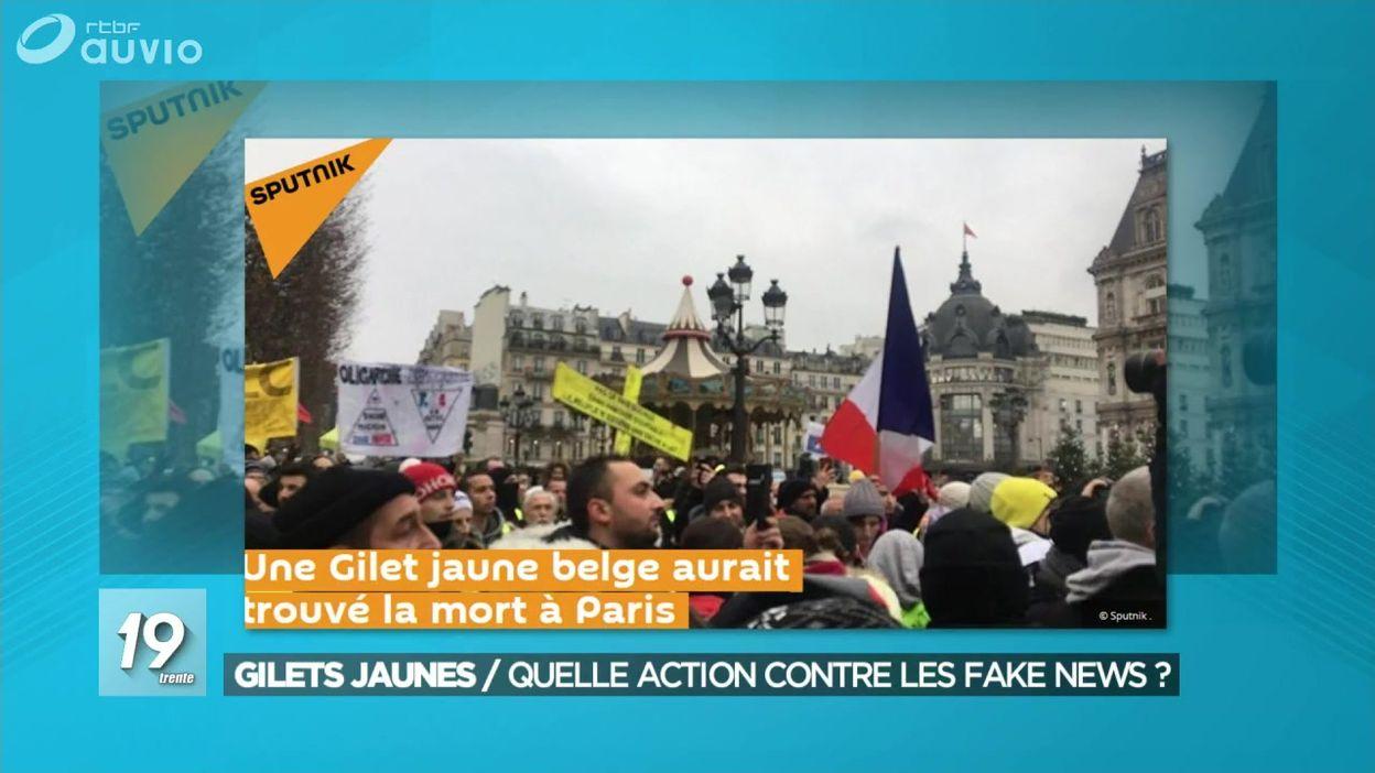 Gilets jaunes : quelle action contre les fake news ?