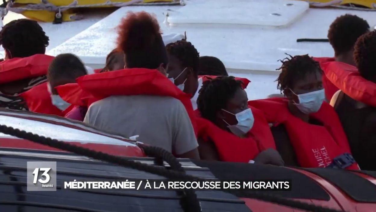 Le sauvetage des migrants par le bateau Banksy