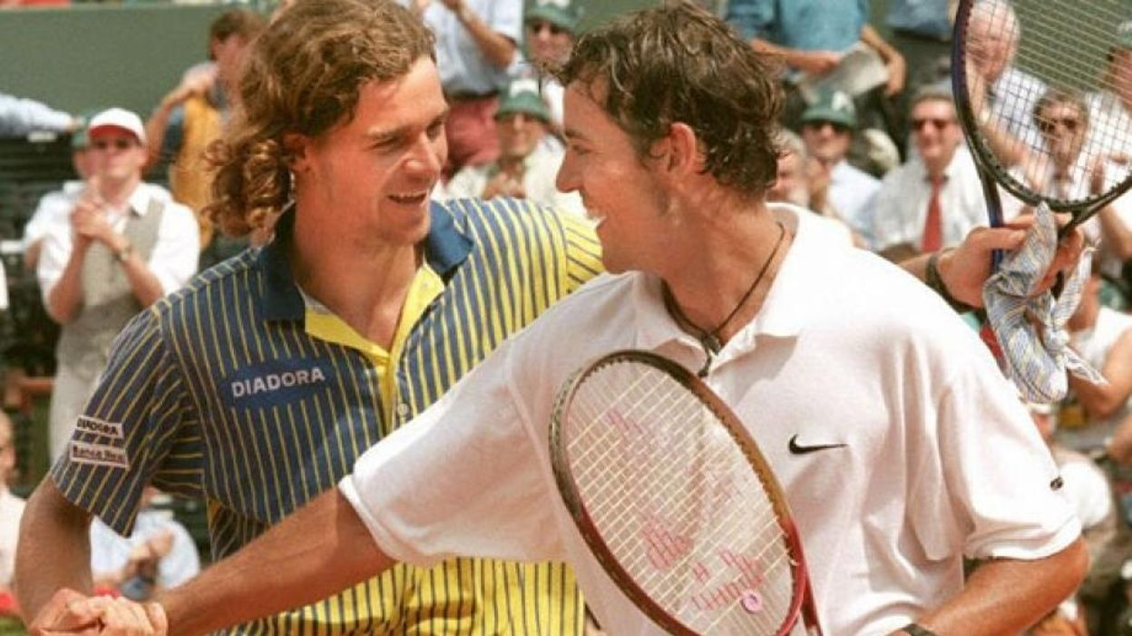 Demi-Finale 1997 : Filip Dewulf - Gustavo Kuerten