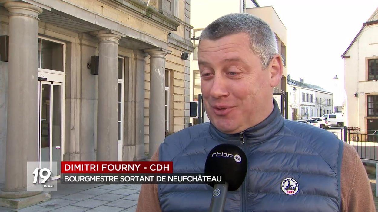 Neufchâteau : Dimitri Fourny renvoyé dans l'opposition