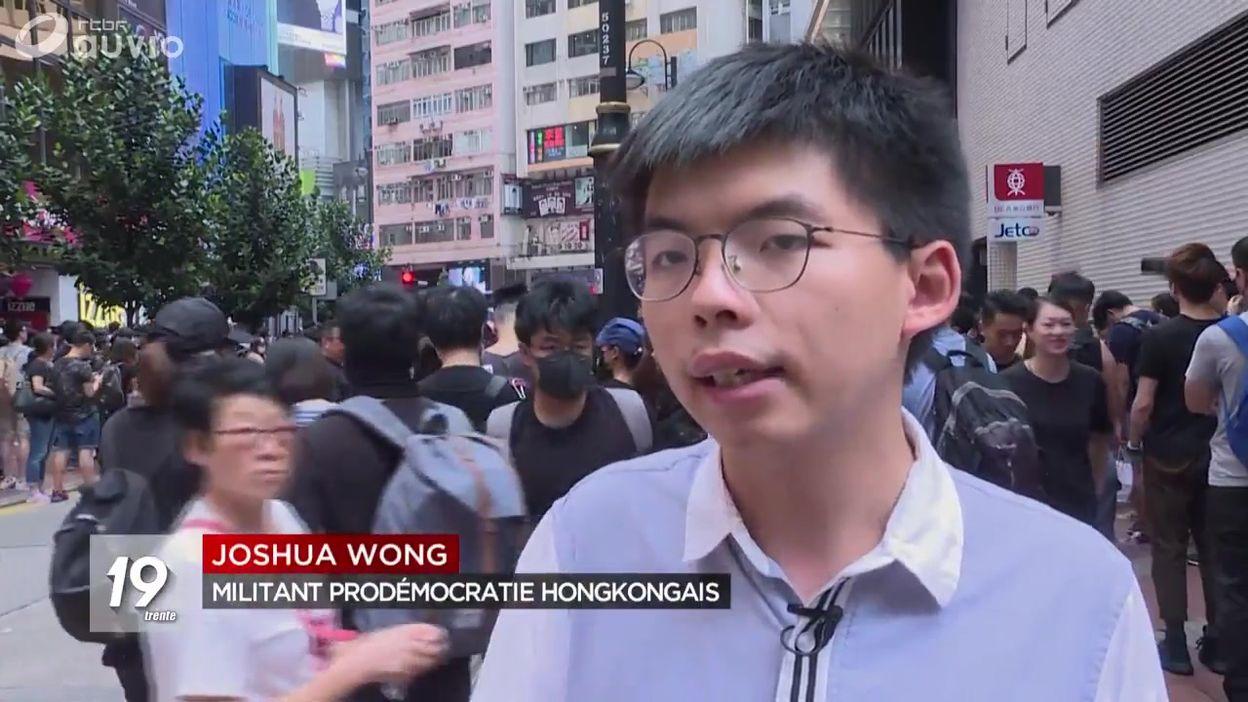 Joshua Wong : une figure de la contestation à Hong Kong