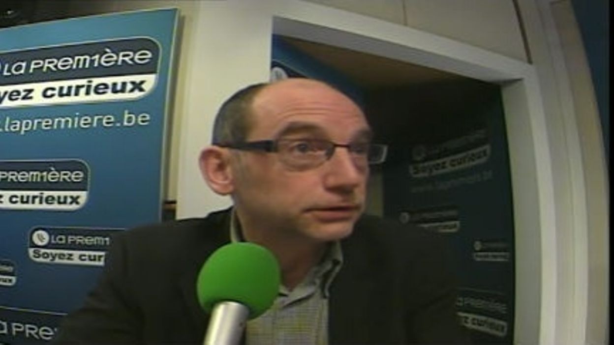 Thierry Jacques dans Matin Première - B.Henne