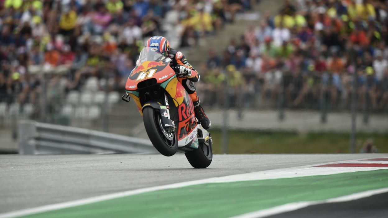 Moto2 : GP Autriche : Victoire de Brad Binder