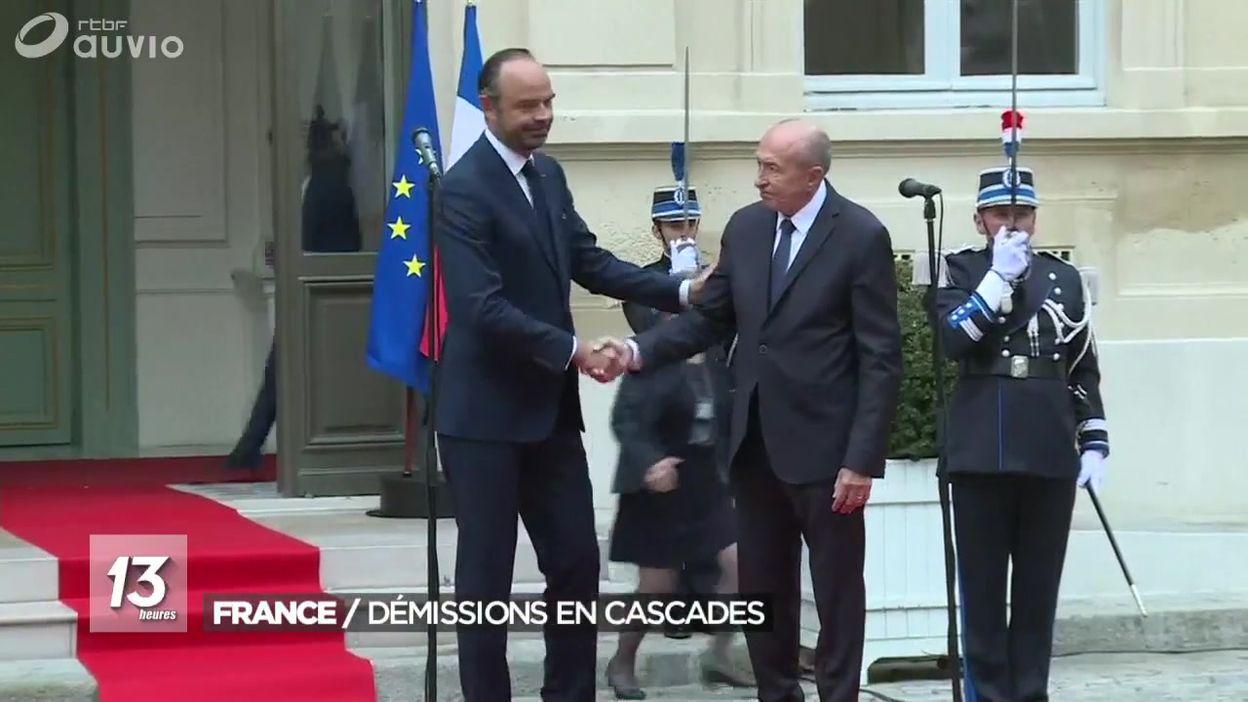 dmissions la chane au gouvernement franais