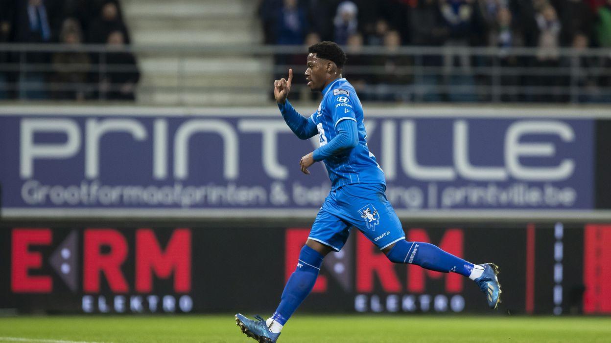 Jonathan David, sprinte 97m à 33km/h en fin de match contre Anderlecht