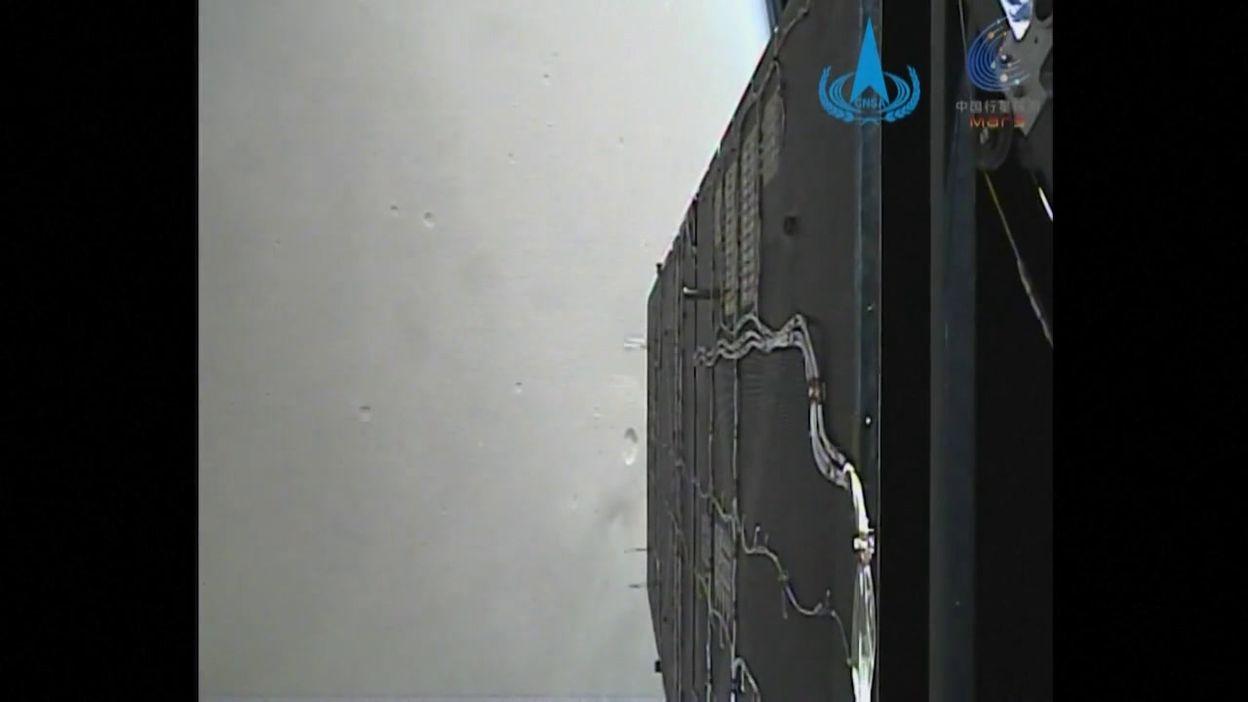 La sonde chinoise Tianwen-1 a envoyé une vidéo de Mars