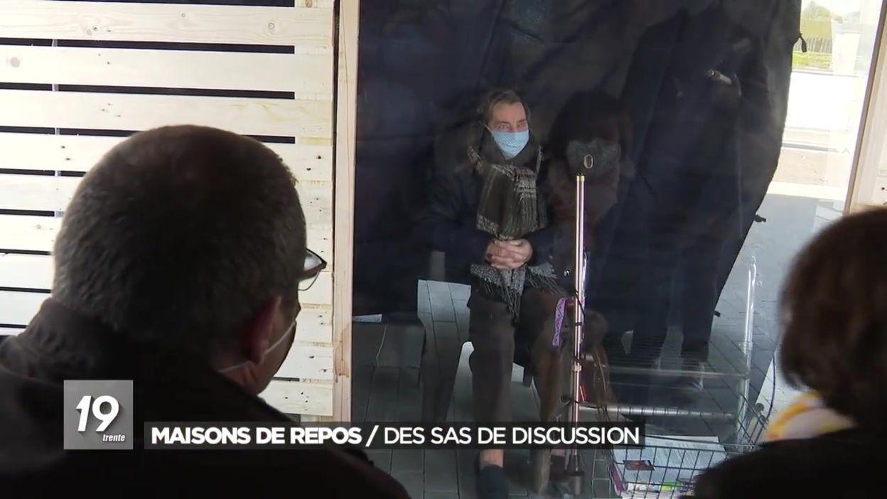 Comines-Warneton : des visites au home permises sous une tonnelle aménagée