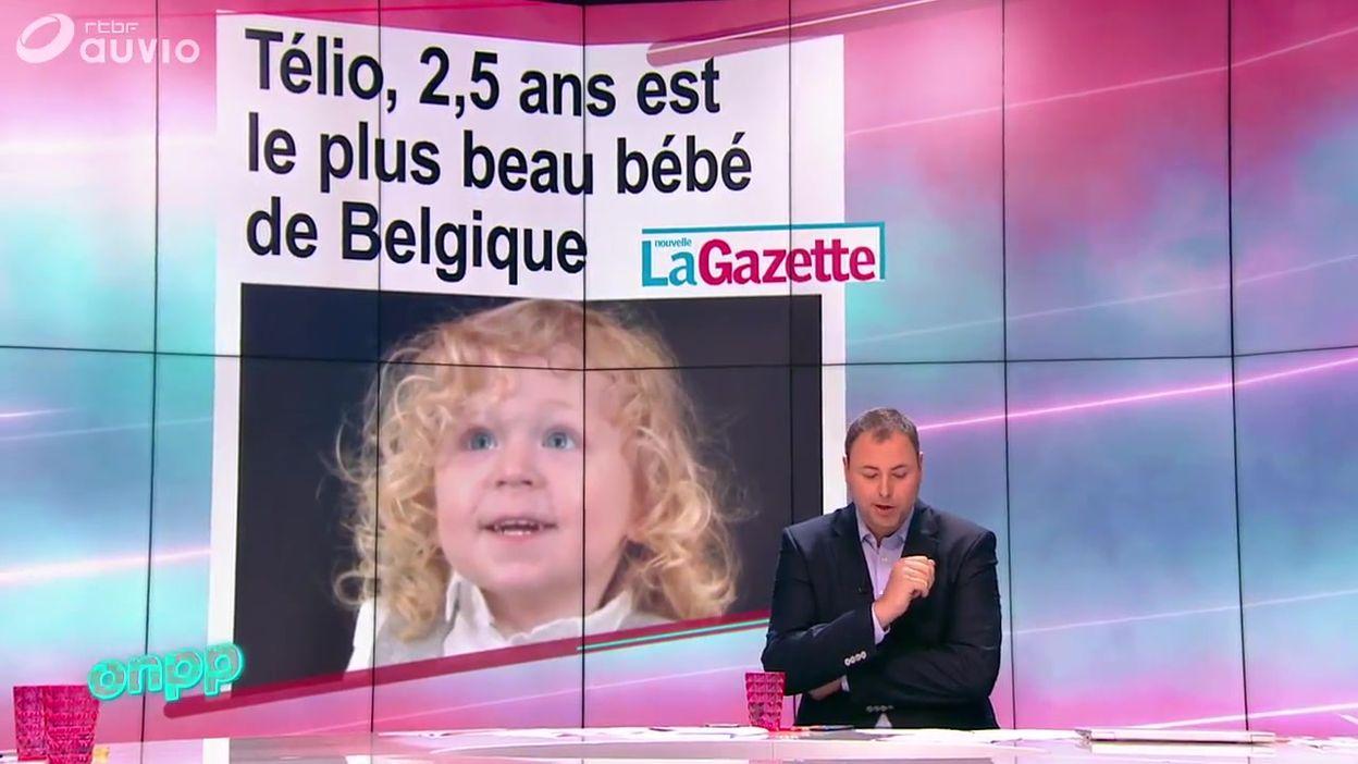 Télio, 2,5 ans est le plus beau bébé de Belgique : les concours de bébé existent encore ?