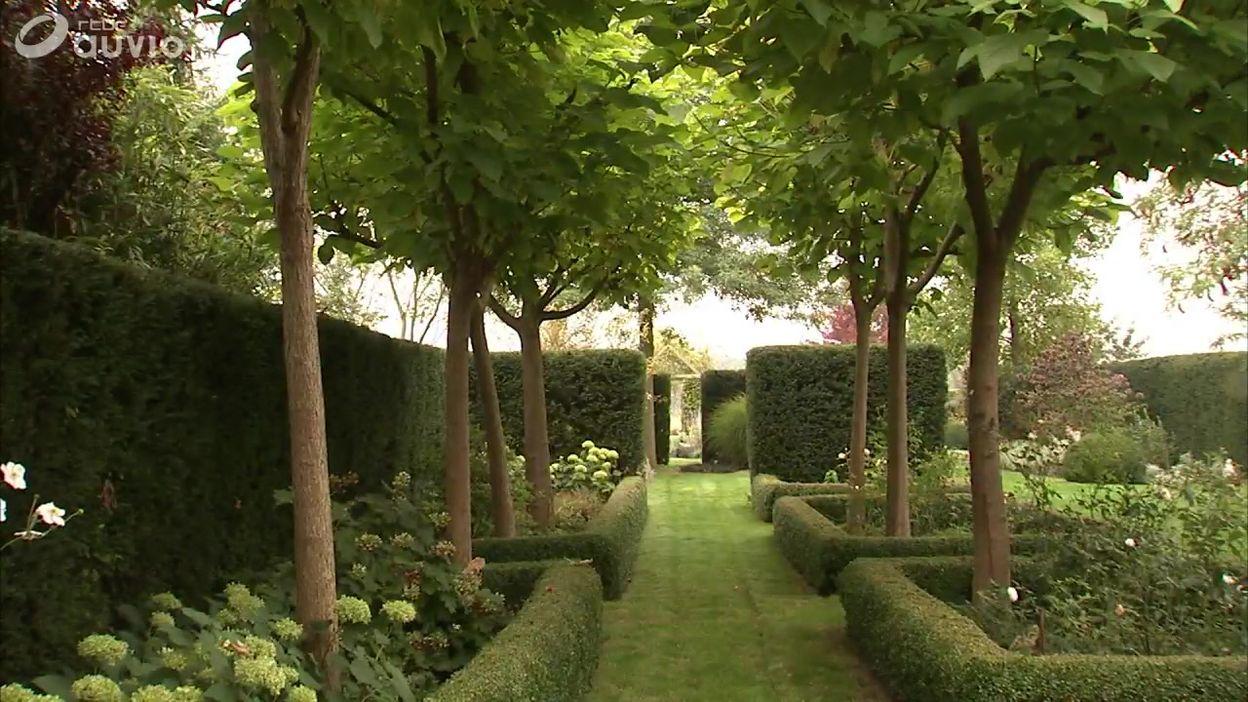 Le jardin de Baudouin, l\'architecte paysagiste - Extrait Jardins et loisirs  8.10.2017 - 08/10/2017